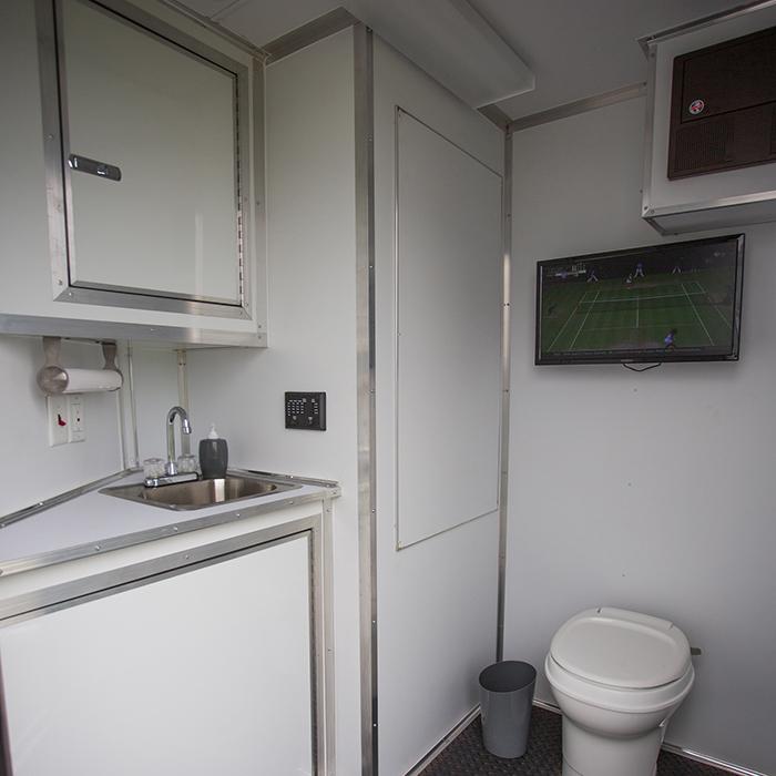 Tailgate – Private Bathrooms